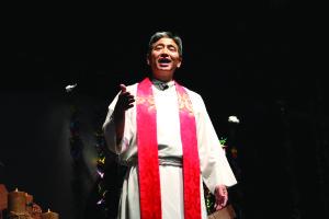 The Rev. Derek Nakano of Blaine Memorial UMC.